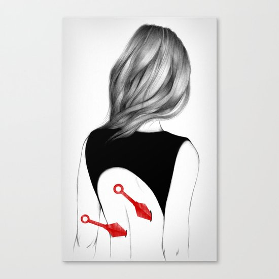 Back Stabbers II Canvas Print