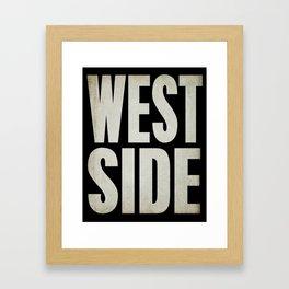 Westside Framed Art Print
