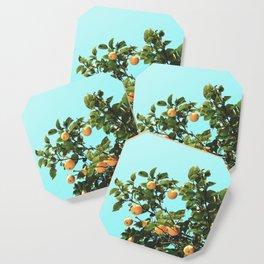 Summer Orange Tree Coaster