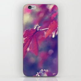 feeling like fall iPhone Skin