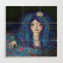 Women in Water Wood Wall Art