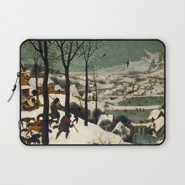 Hunters in the Snow (Winter) Laptop Sleeve