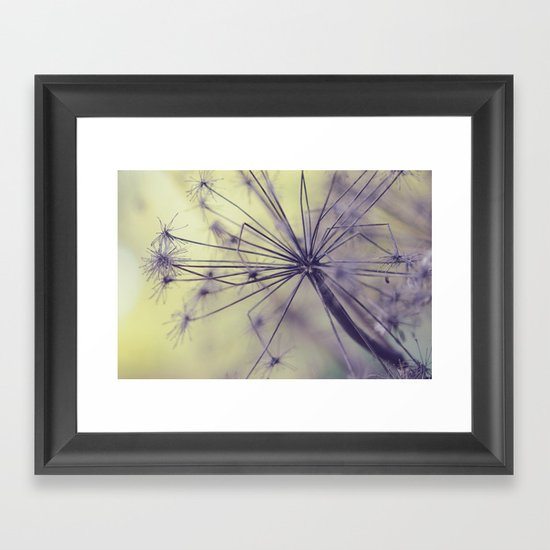 Yesterday is but today's memory, and tomorrow is today's dream.   Framed Art Print
