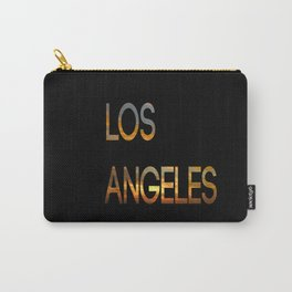 Los Angeles Sunset Tyography Carry-All Pouch