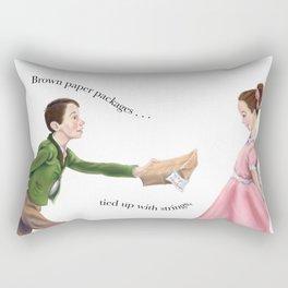 To my sweet heart Rectangular Pillow