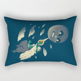 how to defeat the moon Rectangular Pillow