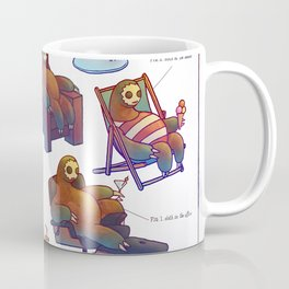 SLOTH LIFE Coffee Mug