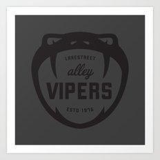 Lakestreet Alley Vipers Art Print