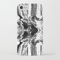 monster high iPhone & iPod Cases featuring High Contrast Beach Monster by Christine Weetman