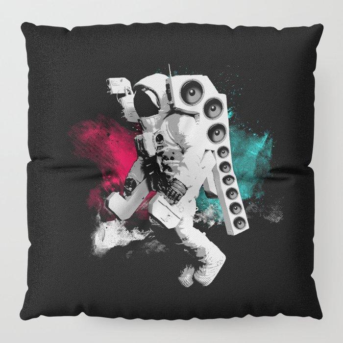 Basstronaut Floor Pillow