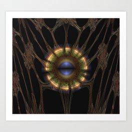 The Eye of Silence Art Print