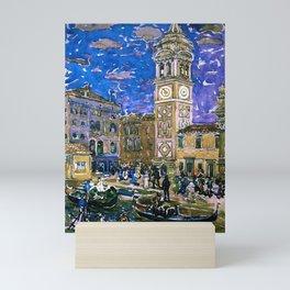 "Maurice Prendergast ""Santa Maria Formosa Venice"" Mini Art Print"