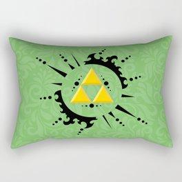Triforce Zelda Rectangular Pillow