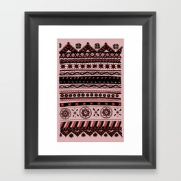Yzor pattern 005 02 Framed Art Print