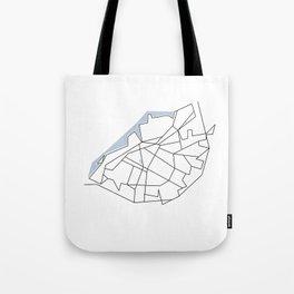 Citylines Malmö Tote Bag