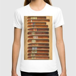 Cigar Sampler Painting Cigars T-shirt