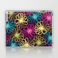 Drybrush Floral Laptop & iPad Skin