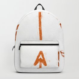 Arrows #painting Backpack