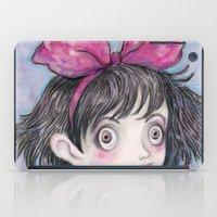 kiki iPad Cases featuring Kiki and Jiji by Brettisagirl