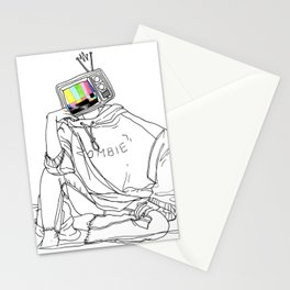 media zombie Stationery Cards