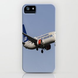 SAS Boeing 737-800 iPhone Case