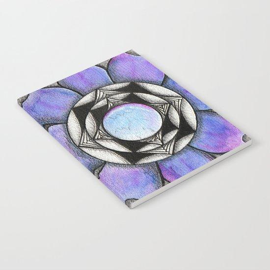 Doodled Gem Bloom Notebook