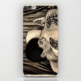 Trading Heartbeats iPhone Skin