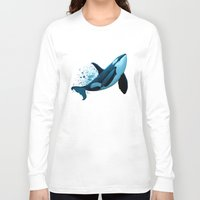 orca Long Sleeve T-shirts featuring The Dreamer  ~ Orca ~ Killer Whale by Amber Marine