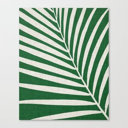 Minimalist Palm Leaf Canvas Print
