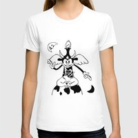 baphomet T-shirts featuring Steamboat Baphomet by dankherbmullet