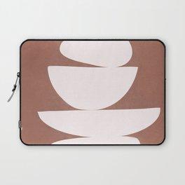 Abstract Balancing Shapes II Laptop Sleeve