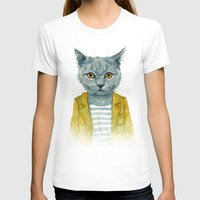 kitty T-shirts featuring Kitty by Leslie Evans