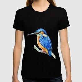 Kingfisher (watercolor) T-shirt