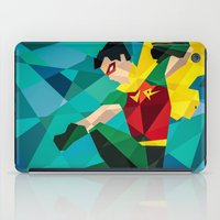 dc comics iPad Cases featuring DC Comics Robin by Eric Dufresne