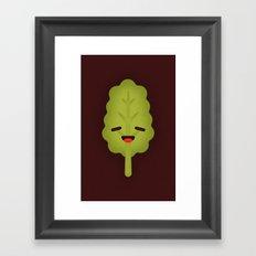 Kale Framed Art Print