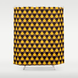 Chocolate Covered Oranges Shower Curtain