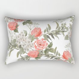 The Master Gardener #PorcelainWhite Rectangular Pillow