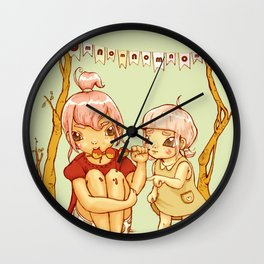 omnomnom Wall Clock