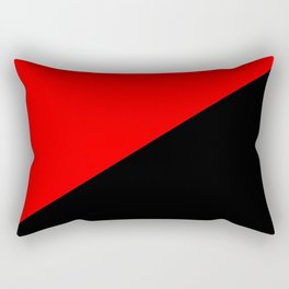 Antifa Flag Rectangular Pillow