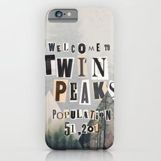 Welcome to Twin Peaks Slim Case iPhone 6s