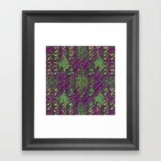 Da Glitch Framed Art Print