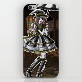Hufflepuff Halloween Witch iPhone Skin
