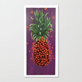 Shimmy Shimmy Pineapple Canvas Print