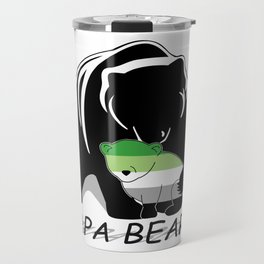 Papa Bear Aromantic Travel Mug