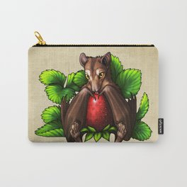 Strawberry Bat Carry-All Pouch