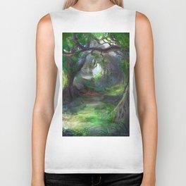 Elven Forest Biker Tank