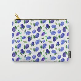 Sweet plums    watercolor Carry-All Pouch