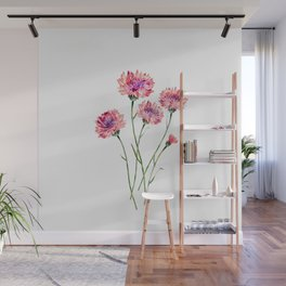 Wildflowers Wall Mural