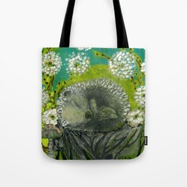 Fast Asleep Tote Bag
