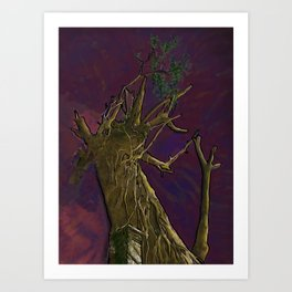 Tree of Knowledge -Teaching Art Print